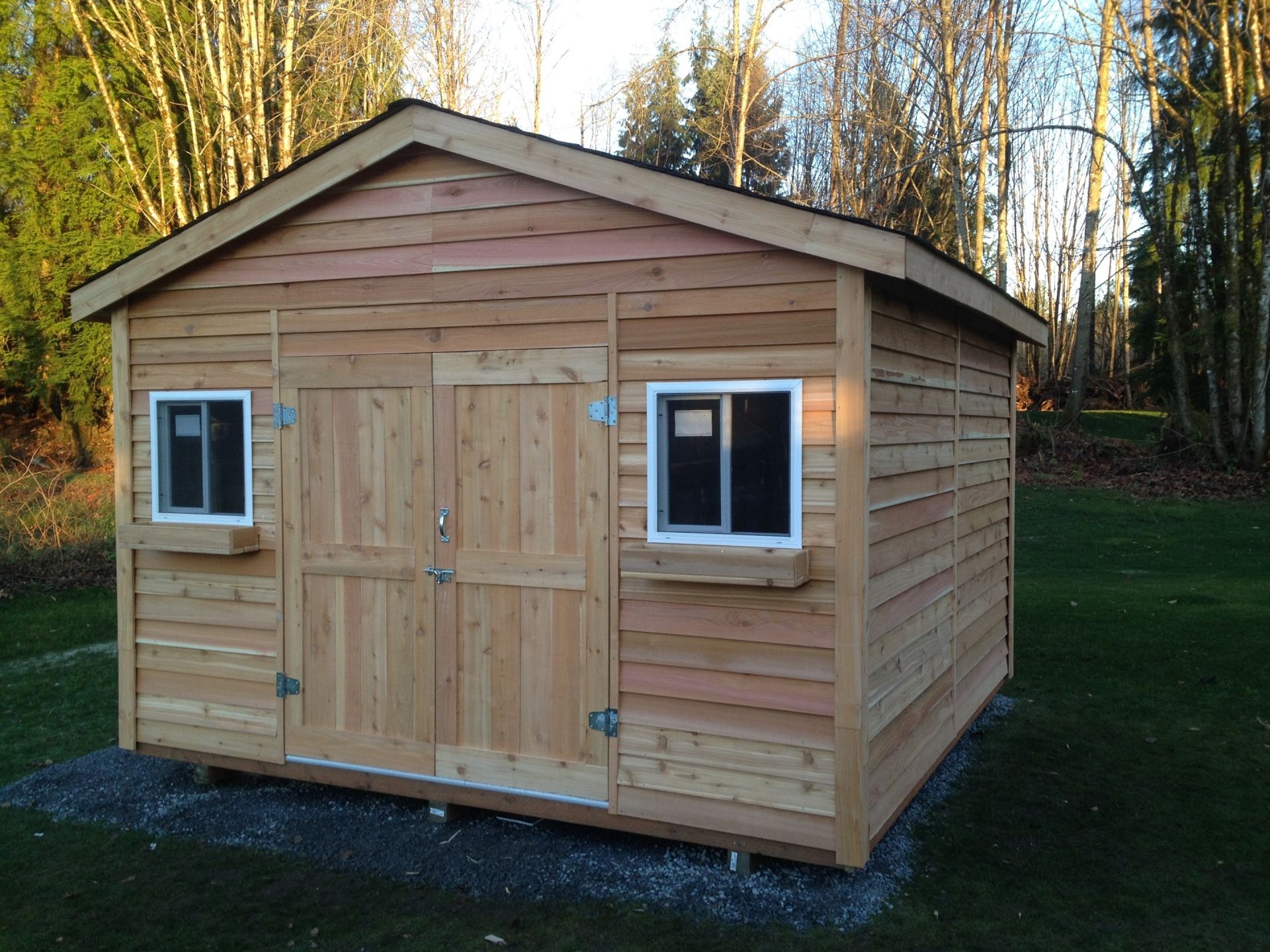 33X33 Standard Shed