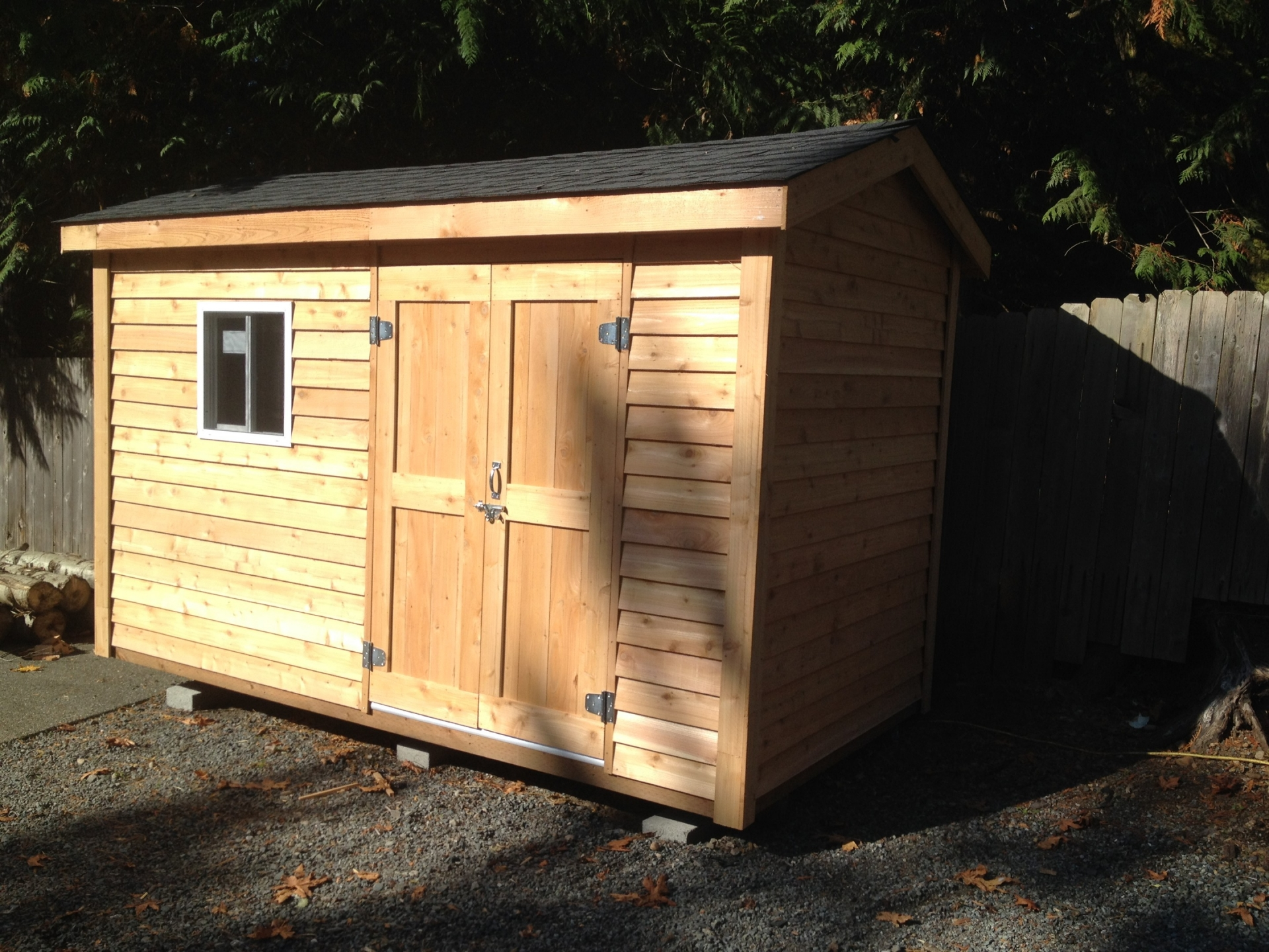 8X12 Standard Shed