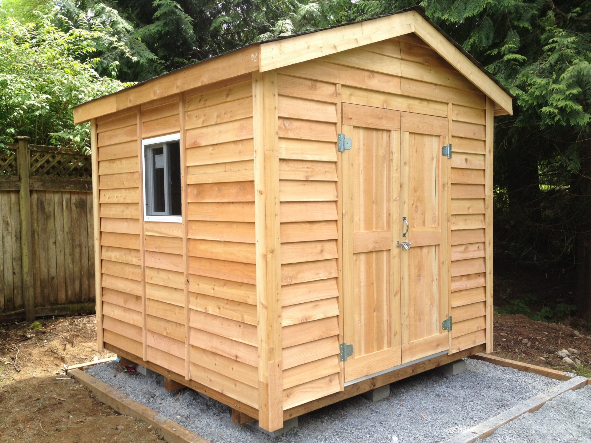 8X8 Standard Shed